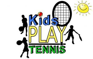 Kids Play Tennis Logo